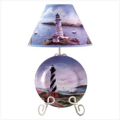 CAPE HATTERAS PLATE LAMP  Retail: $34.95
