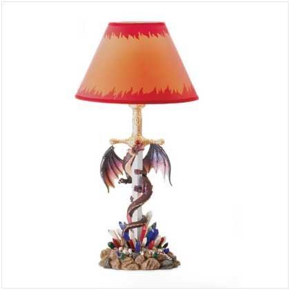 MEDIEVAL LEGENDS LAMP  Retail: 59.95