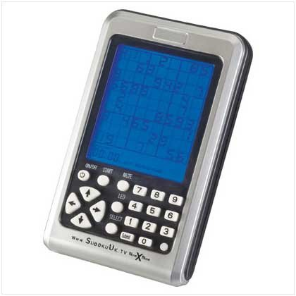 SUDOKU ELECTRONIC HANDHELD GAME