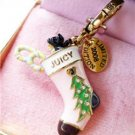 NIB Juicy Couture Christmas Tree Stocking Yorkie Charm