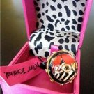 NWT Betsey Johnson Miami Chic City LOVE Ball Ring Sz. 7