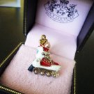NIB Juicy Couture Sparkly Silver Rollerblade Charm $52
