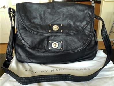 NWT Marc by Marc Jacobs Turnlock Sasha Leather Handbag