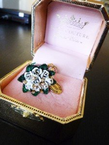 NIB Juicy Couture Prom Queen Bouquet Ltd. Edition Charm