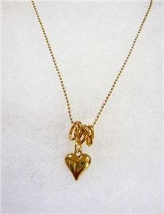 NWT Marc by Marc Jacobs Bubbly Heart Pendant Necklace