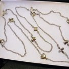 NWT Marc by Marc Jacobs Heart Diamond Long Necklace
