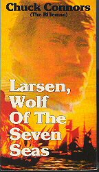 Larsen, Wolf of the Seven Seas vhs used Chuck Connors Il Lupo de Mari  video movie