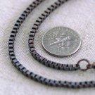 "Antique Copper Metal  Box Chain Necklace Copper Chain Necklace cn164 18"""