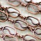 Fancy Metal Chain Antique Copper j10ad(2ft)