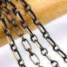 Antique Bronze Metal Cable Chain Link Bronze Chains 3.5mm c139 (4ft)