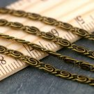 Antique Bronze Plated Coil Link Chains 2.8mm c200b(8ft)