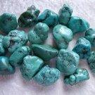 Turquoise Tumbled Stone