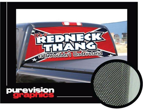 Redneck Truck Stickers - Redneck window decals for trucks
