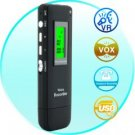 Digital Voice and Telephone Recorder and MP3 Player (2GB Memory + USB Drive)