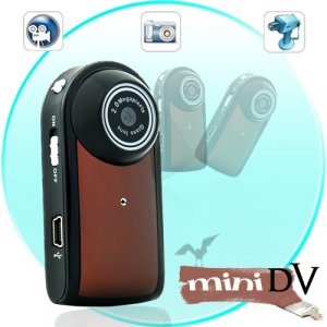 Ultra Compact Smallest MiniDV Camcorder (Motion Detection, 30 FPS)