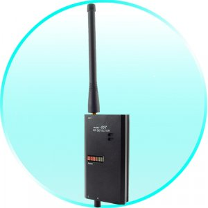 PROFESSIONAL Wireless Video and Audio Signal Detector - Wireless Tap Detector - Bug detector