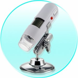 USB Digital Microscope With 1.3 M Pixel Resolution - Video Clips