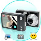 8MP Digital Camera with 3 Inch LCD Touch Panel High MegaPixel Digital Camera
