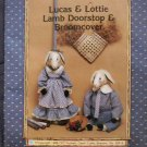 Broomcover & Doorstop Lucas & Lottie Lamb Pattern