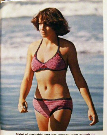 Crocheted Beach Bikini Pattern + More!  FREE SHIPPING