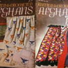 Vintage Knit & Crochet Afghan Patterns Star Book 222