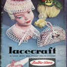 Vintage Booklet Lacecraft with Lustro-Ware 1958