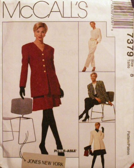 Misses JONES NEW YORK M 7379 Pattern - FREE SHIPPING