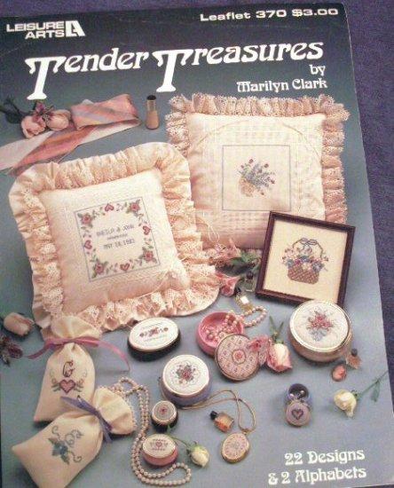 Cross Stitch Tender Treasures Leaflet