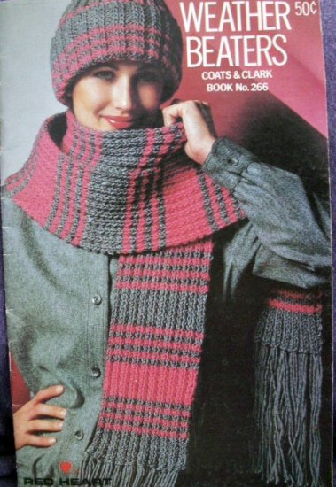 Weather Beaters Coats & Clark Book No. 266  FREE SHIPPING