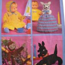 Crochet & Knit  VINTAGE Patons Favorite Toys 7015 FREE SHIPPING