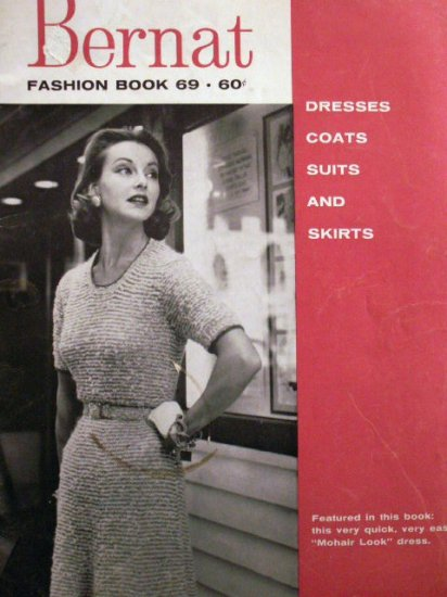 Bernat Fashion Book 69  VINTAGE FREE SHIPPING