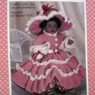 Doll Clothes Pattern Lovely Katina  FCM 253 CROCHET  FREE SHIPPING