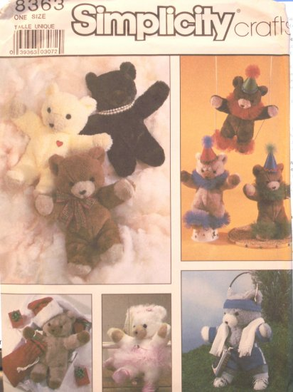 Bears & Clothing Accessories Pattern
