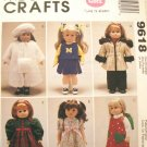 Gotz Doll Time To Dream Clothes Pattern  M 9618 - FREE SHIPPING