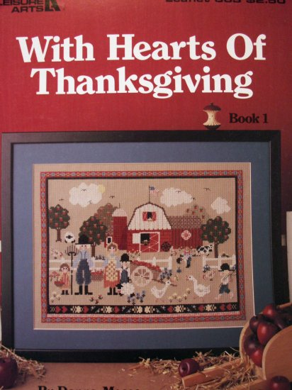 Thanksgiving Design  Needlework Cross Stitch