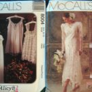 Victorian Style Wedding Dress & Lingerie Patterns by Alicyn M6948  M8001 - FREE SHIPPING