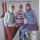 Coats & Clark Book No 160   Vintage 1965 - FREE SHIPPING