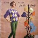 Knit Knacks For The Family by Spinnerin Yarn Co  Vol 158 LEOTARD Patterns FREE SHIPPING
