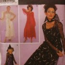Halloween Costume Pattern Misses Vampira, Angel, Witch & Devil - FREE SHIPPING
