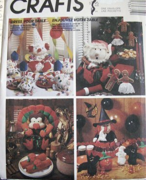 Dress Your Table For Celebrating Pattern Bday, Christmas, Halloween, Thanksgiving