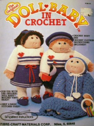 The Original Doll Baby In Crochet  FCM102 - FREE SHIPPING