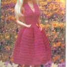 Annie's crochet July-Aug 1985 No 16 Tuxedo Bib, Baby Dress, Barbie Dress - FREE SHIPPING