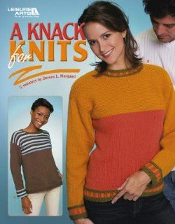A Knack For Knits Sweater Pattern Book - FREE SHIPPING