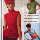 101 Sweaters Patterns to Knit 1970 - FREE SHIPPING