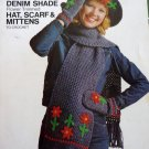 Denim Shade Bulky Sweater To Knit by Fruit of the Loom - FREE SHIPPING
