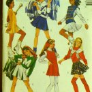 Costume Pattern Majorette, Cheerleaders, Skater Skirt - FREE SHIPPING