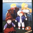 Wardrobe For 18 inch Soft Sculpture Doll Pattern  FREE SHIPPING