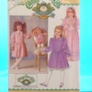 Original Butterick Cabbage Patch Doll Pattern #4151 GIRLS & DOLL MATCHING PATTERN  FREE SHIPPING
