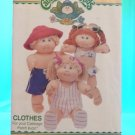 Original Butterick Cabbage Patch Doll Pattern #360 / 3270  FREE SHIPPING