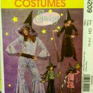 Sassy Girl Witch Costumes Pattern Size 7, 8, 10 M5209 - FREE SHIPPING